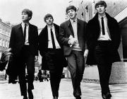 Standing Photo Posters - The Beatles Poster by Granger