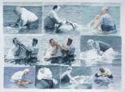 Baptism Paintings - The Beauty of Chance by Perry Woodfin