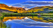 Leadville Framed Prints - The Beauty of Green Framed Print by Scott Mahon