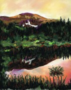 Beaver Pastels - The Beaver Ponds by Frances Marino
