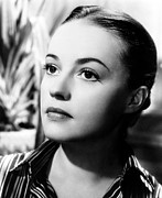 1950s Movies Prints - The Bed, Jeanne Moreau, 1954 Print by Everett