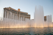 The Bellagio Hotel And Casino Print by Andy Smy