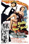 1952 Movies Framed Prints - The Belle Of New York, Fred Astaire Framed Print by Everett