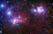 H Prints - The Belt Stars Of Orion Print by Robert Gendler