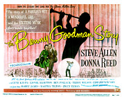 1955 Movies Photo Framed Prints - The Benny Goodman Story, Donna Reed Framed Print by Everett