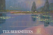 Lilly Pond Painting Prints - the Berkshires Print by Len Stomski