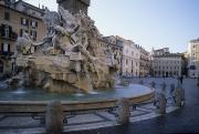 Bernini Photos - The Bernini Sculpted Fountain by Taylor S. Kennedy