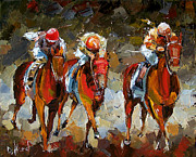 Kentucky Derby Paintings - The Best by Debra Hurd