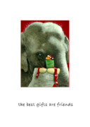 Mice Paintings - The best gifts are friends... by Will Bullas