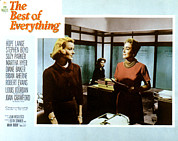 Films By Jean Negulesco Framed Prints - The Best Of Everything, Hope Lange Framed Print by Everett
