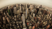 Nyc Photo Prints - The Big Apple Print by Peter Verdnik