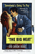 The Big Heat, Gloria Grahame, Glenn Print by Everett