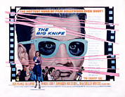 1955 Movies Prints - The Big Knife, Jack Palance, Ida Print by Everett