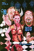 John Goodman Prints - The Big Lebowski Print by Cory Rootes