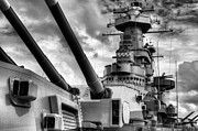 Battleships Framed Prints - The Big NC Framed Print by JC Findley