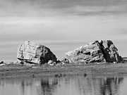 Big Al Prints - The Big Rock   Okotoks Erratic Print by Al Bourassa