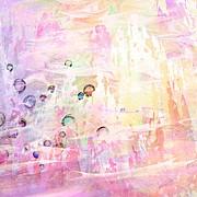 The Big Rock Candy Mountains Print by Rachel Christine Nowicki