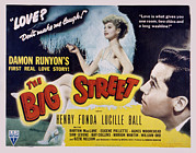 Lovesick Posters - The Big Street, Lucille Ball, Henry Poster by Everett