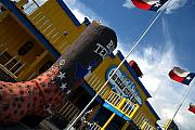 Landmark Prints - The Big Texan II Print by Susanne Van Hulst