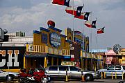 Route 66 Photos - The Big Texan in Amarillo by Susanne Van Hulst