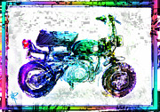 Honda 50 Framed Prints - The Big Z Framed Print by Russell Pierce