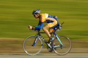 Athlete Photos - The Biker by Marc Bittan