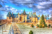 Asheville Digital Art - The Biltmore Estate by Dan Stone
