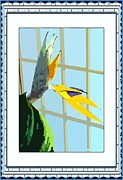 Bird Of Paradise Flower Digital Art - The Bird by Mindy Newman