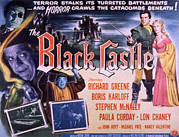 1950s Poster Art Framed Prints - The Black Castle, Boris Karloff, Lon Framed Print by Everett