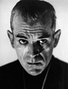 Satanic Framed Prints - The Black Cat, Boris Karloff, 1934 Framed Print by Everett