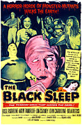 1956 Movies Prints - The Black Sleep, Center George Sawaya Print by Everett