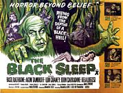 1950s Poster Art Photos - The Black Sleep, Close-up On Left Tor by Everett