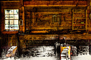 Pelts Prints - The Blacksmith Shop Print by David Patterson