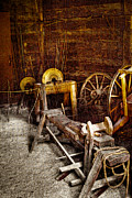 Pelts Prints - The Blacksmith Shop II Print by David Patterson