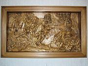 Landscapes Reliefs - The blind leading the blind  by Norbert Bauwens
