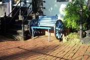 Bricks Originals - The Blue Bench by Walter Neal