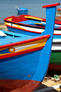 Europe Photo Originals - The Blue Boat by Dias Dos Reis