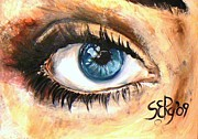 2009 Originals - The blue eye by Silja Erg