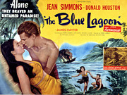 1949 Movies Prints - The Blue Lagoon, Jean Simmons, Donald Print by Everett