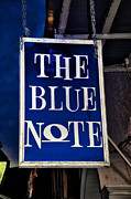 Jazz Digital Art - The Blue Note - Bourbon Street by Bill Cannon