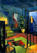 The Blue Room Print by MONA EDULESCO - Emona Art