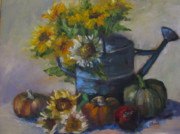 Sharon Franke - The Blue Watering Can