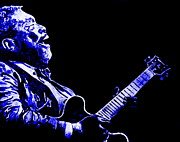 B.b.king Paintings - The Blues by Mike OBrien