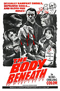 Blood Moon Posters - The Body Beneath, Center Top Gavin Reed Poster by Everett