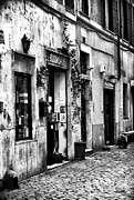 Trastevere Framed Prints - The Bookshop Framed Print by John Rizzuto
