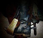 Horseback Riding Posters - The Boot Poster by Steven  Digman