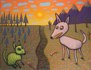 Creatures Art - The Border by James W Johnson