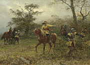 Soldier Paintings - The Boscobel Oak by Earnest Crofts