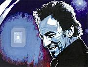 Bruce Springsteen Drawings - The Boss by Neal Portnoy