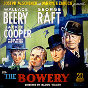 Newscannerlg Framed Prints - The Bowery, Fay Wray, Jackie Cooper Framed Print by Everett